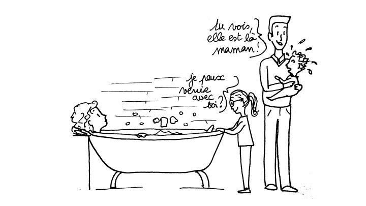 Les bains publics…
