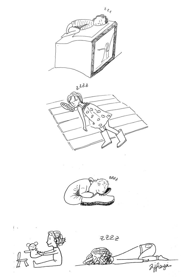 dormir nimporte ou