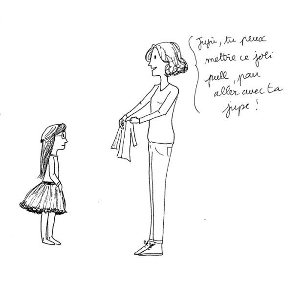 habiller une pré-ado